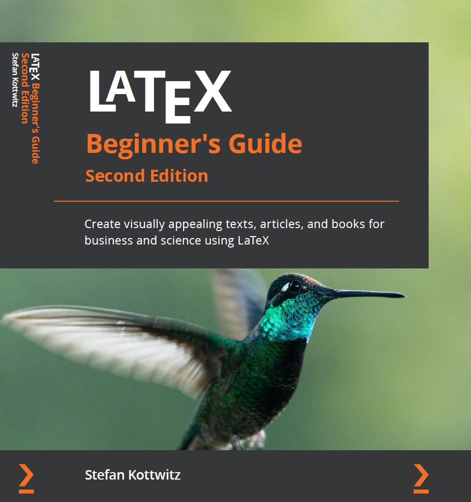 LaTeX Beginner's Guide cover