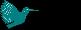 LaTeX logo: hummingbird